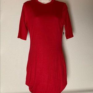 Red dress NWT